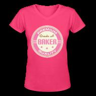 T-Shirts ~ Women's V-Neck T-Shirt ~ Article 103503092