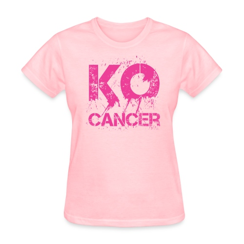 KO Cancer -  Women's T-Shirt - Women's T-Shirt