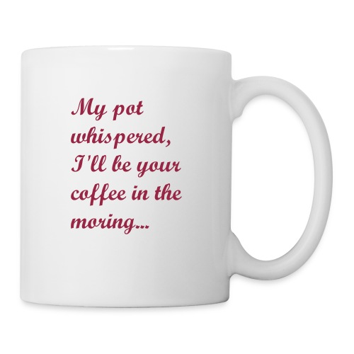 Coffee in the morining- Mug - Coffee/Tea Mug