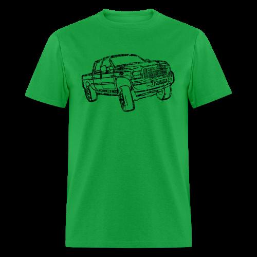 Ford F250 Grunge - Men's T-Shirt