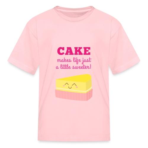 Cake Life T-Shirt - Kids' T-Shirt