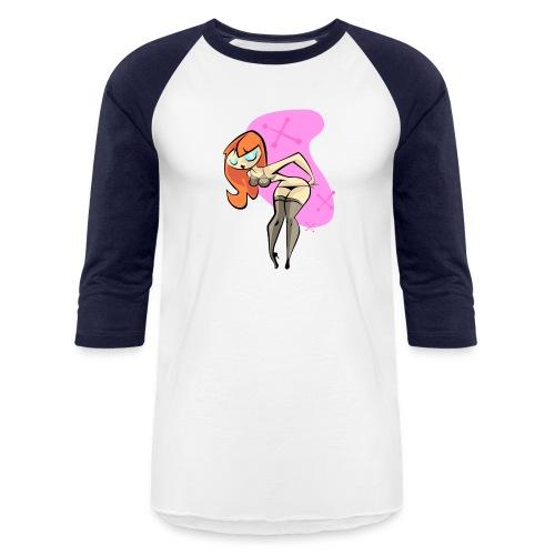 Retro Pin-Up - Baseball T-Shirt
