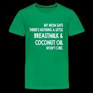 Kids' Shirts ~ Kids' Premium T-Shirt ~ Breastmilk & Coconut Oil