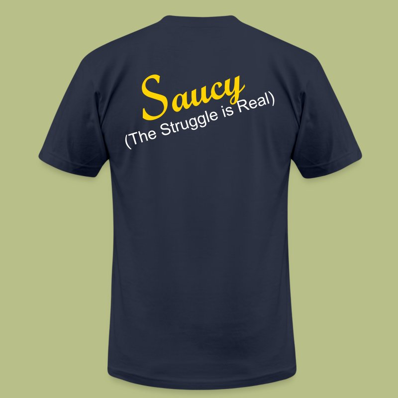 The Struggle - Men's T-Shirt by American Apparel