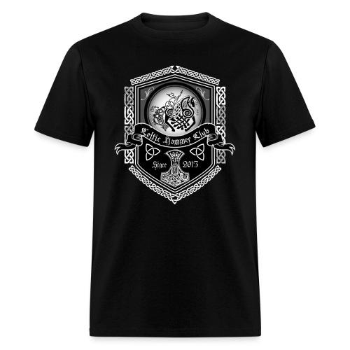 Odin on Sleipnir Banner - Men's T-Shirt