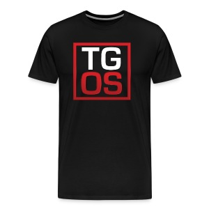 Men's Black TGOS Tee - Men's Premium T-Shirt