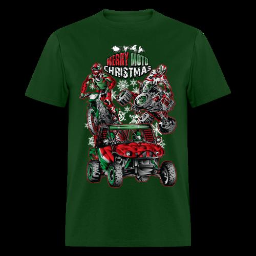 Merry Moto Christmas - Men's T-Shirt