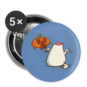 Catoween — Friday Cat №27 - Large Buttons