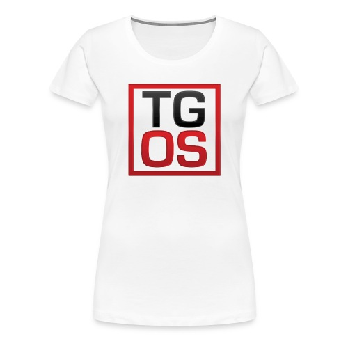 Women's White TGOS Tee - Women's Premium T-Shirt
