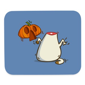Catoween — Friday Cat №27 - Mouse pad Horizontal