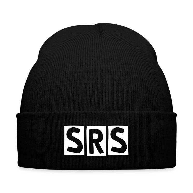 Classic SRS Winter Cap - Knit Cap with Cuff Print