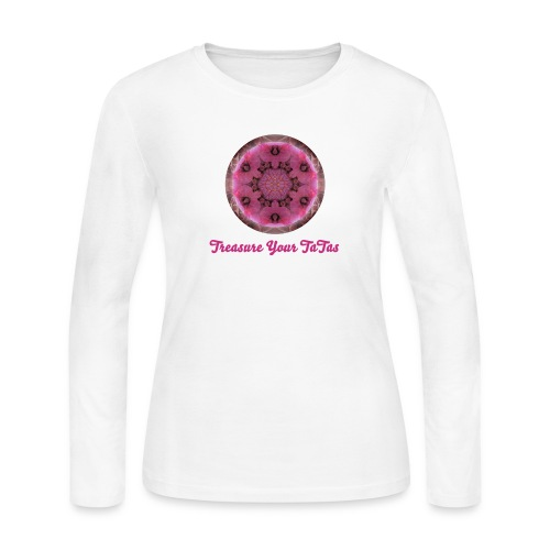 Treasure Your TaTas Long Sleeve Tee - Women's Long Sleeve Jersey T-Shirt