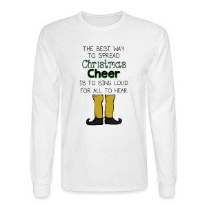 Christmas Cheer Shirt - Men's Long Sleeve T-Shirt