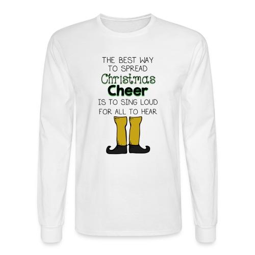 Christmas Cheer Shirt - Men's Long Sleeve T-Shirt