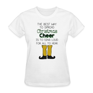 Christmas Cheer Shirt - Women's T-Shirt