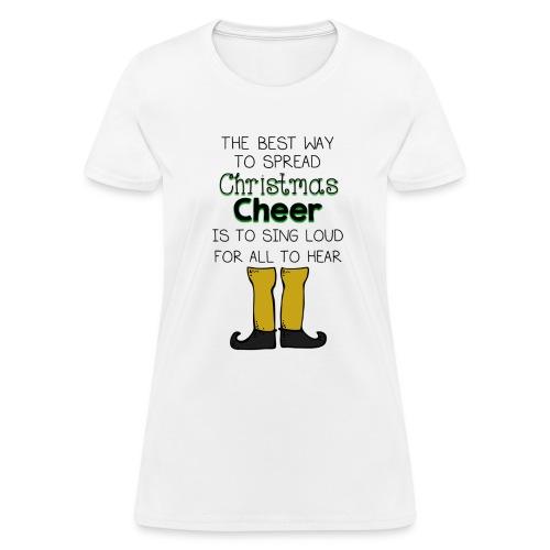 Christmas Cheer Shirt - Women's T-Shirt