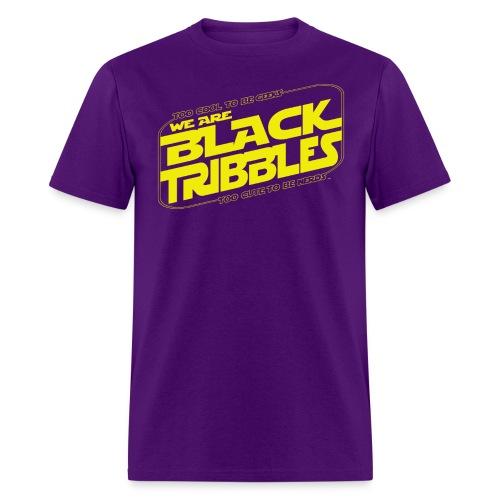Black Tribbles STAR WARS - Men's T-Shirt