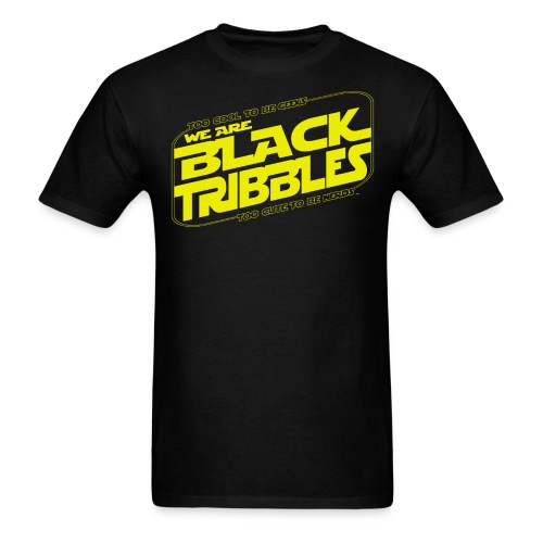 Black Tribbles STAR WARS - Men's T-Shirt