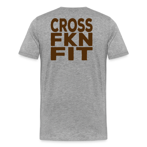 Cross FKN Fit - Men's Premium T-Shirt