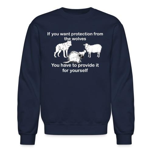 Porcupine sweatshirt dark colors - Crewneck Sweatshirt