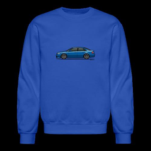 Audi A4 Quattro B5 Sedan (Nogaro Blue) - Crewneck Sweatshirt