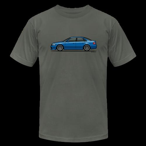 Audi A4 Quattro B5 Sedan (Nogaro Blue) - Men's  Jersey T-Shirt