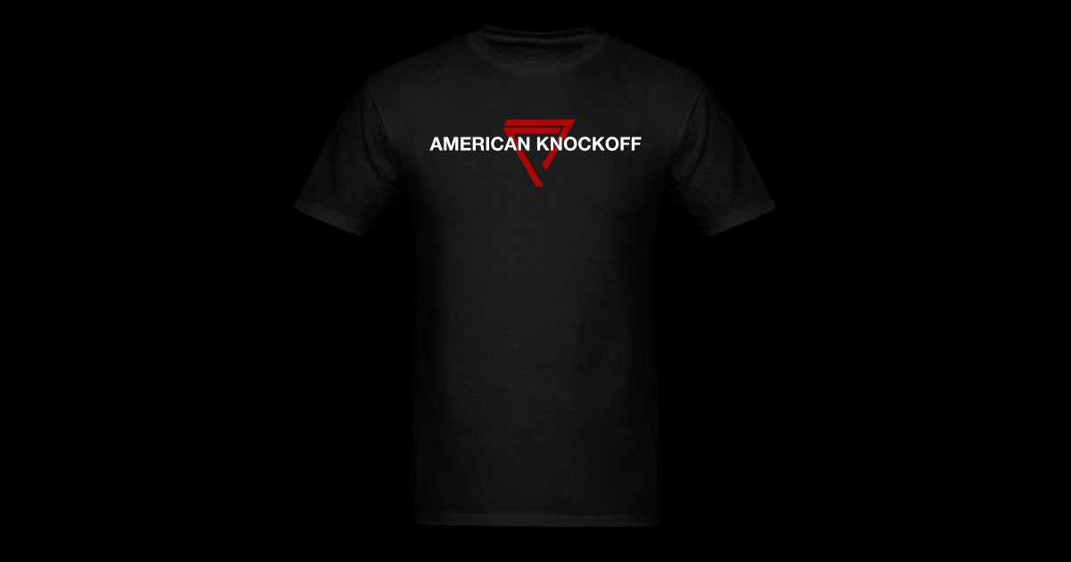 2452d2844fc1 American Knockoff Merchandise | AKO RED TRIANGLE [MENS] - Mens T-Shirt