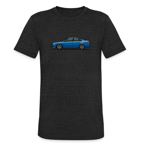 Audi A4 Quattro B5 Sedan (Nogaro Blue) - Unisex Tri-Blend T-Shirt