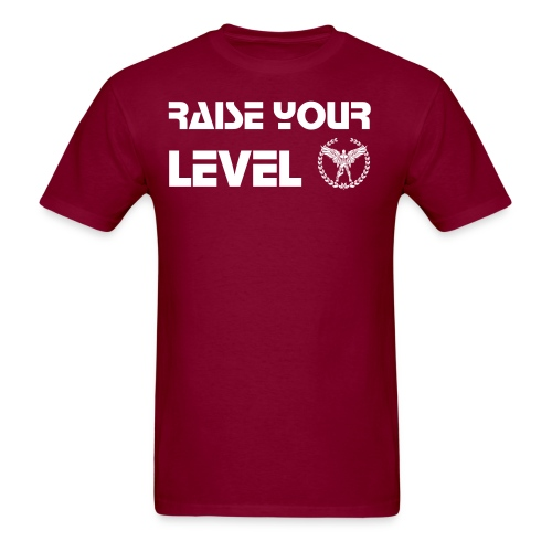 Raise Your Level Training Tee - Men's T-Shirt