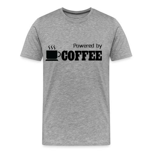 Powered BY Coffee - Men's Premium T-Shirt