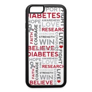 Diabetic iPhone 6 Rubber Case - iPhone 6/6s Rubber Case