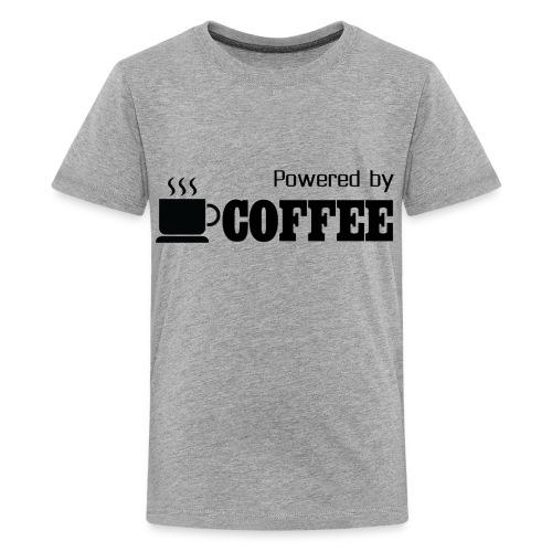 Powered BY Coffee (KIDS) - Kids' Premium T-Shirt