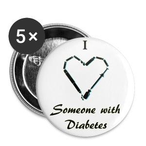 Diabetic Button - Large Buttons