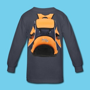 Virtual Swim Bag Orange Blue