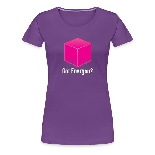 Got Energon? - Women's Premium T-Shirt