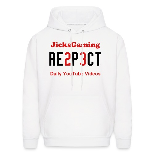 JicksGaming Men's RESPECT SweatShirt - Men's Hoodie