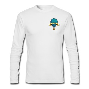 OWABM Media Classic Balloon Logo Long Sleeve Shirt - Men's Long Sleeve T-Shirt by Next Level