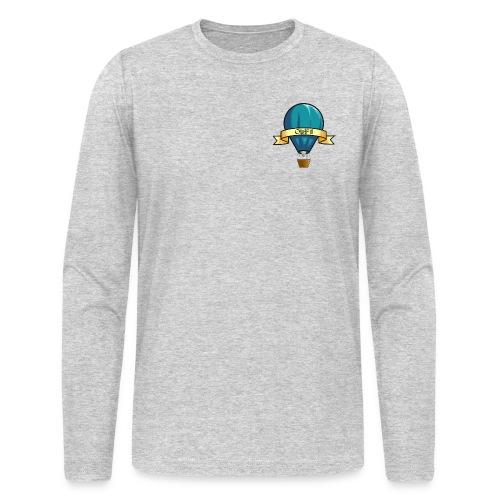 OWABM Media Classic Balloon Logo Long Sleeve Shirt - Men's Long Sleeve T-Shirt by Next Level