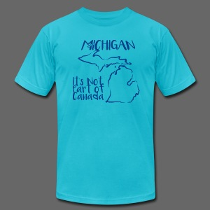 Not Part of Canada - Men's T-Shirt by American Apparel