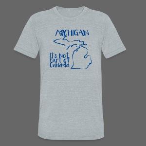 Not Part of Canada - Unisex Tri-Blend T-Shirt