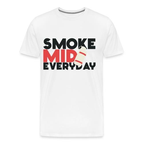 Smoke mid everyday - Men's Premium T-Shirt