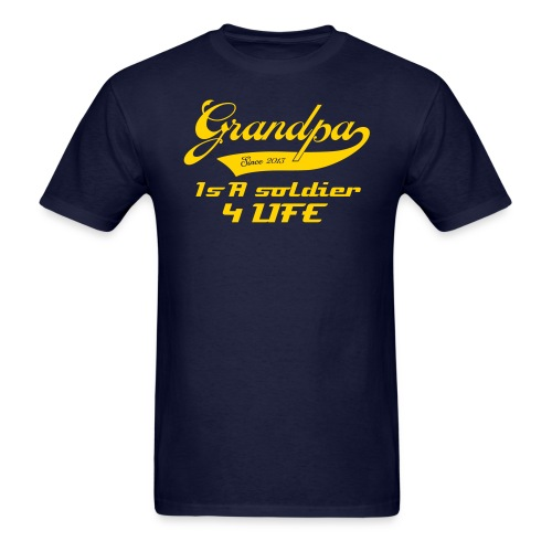 Grandpa Soldier - Men's T-Shirt