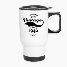 Premium Quality Vintage Since 1946 Limited Edition Mugs & Drinkware