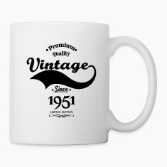 Premium Quality Vintage Since 1951 Limited Edition Mugs & Drinkware