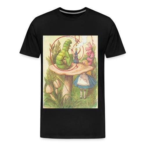 Trippy Alice (Male) - Men's Premium T-Shirt