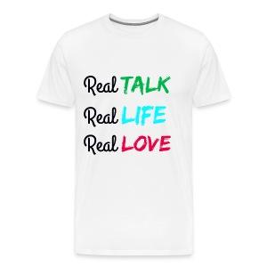 Men's REAL Premium Tee - Men's Premium T-Shirt