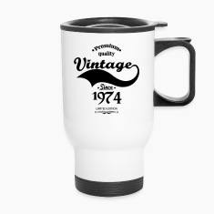 Premium Quality Vintage Since 1974 Limited Edition Mugs & Drinkware
