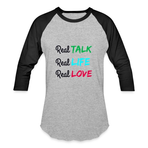 Men's REAL Baseball T-Shirt - Baseball T-Shirt