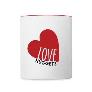 LoveNug Heart Mug - Contrast Coffee Mug