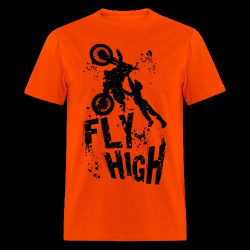 Motocross Fly High - Men's T-Shirt
